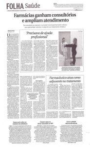 Minuto Saúde - Folha de Londrina 11072016